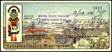Mobster JOSEPH BONANNO Signed Check