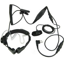 Heavy Duty Throat Microphone With VOX For Motorola EP450 MAG ONE PR400 P110