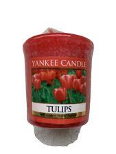 NEW Yankee Candle Tulips votive