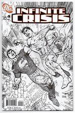 INFINITE CRISIS #4   2nd Print   Jim Lee Superman Sketch Variant   2006   NM-
