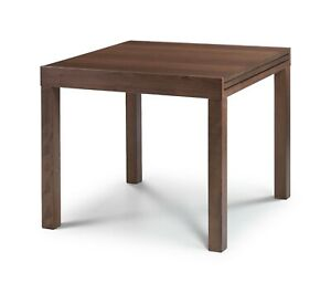 Melrose Extending Dining Set Walnut Finish with Table or Chair Option