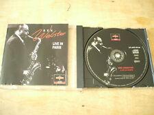 BEN WEBSTER - LIVE IN PARIS 1972 - 5 TRACK CD