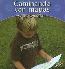 Caminando Con Mapas/Walk on Maps (My First Math Discovery) (Spanish-ExLibrary