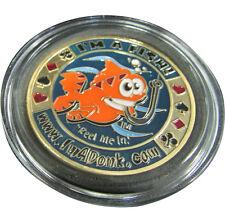 Casino Poker Card Guard Cover Protector I'm a Fish!