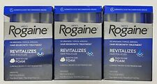 Rogaine Men's Hair Regrowth Treatment Foam 9 month supply Exp 12/2019 New