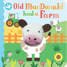 Little Learners Old MacDonald Had a Farm Finger Puppet Book, For Kids Age 2+ yr