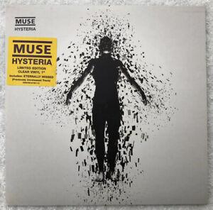 "Muse - Hysteria - Ltd Clear 7"" Single - EW278 - 2003 - Superb"