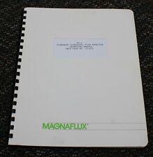 PORTABLE ULTRASONIC FLAW DETECTOR Manual Magnaflux FX-1 #221010 1988