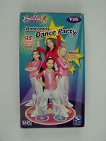 Bella Dancerella Dance Party VHS Video Tape