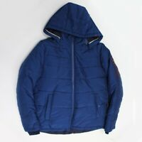 HUGO BOSS KIDS BOYS DOUDOUNE BUBBLE HOODIE JACKETJ26324/804 MRP £185 SLATE BLUE