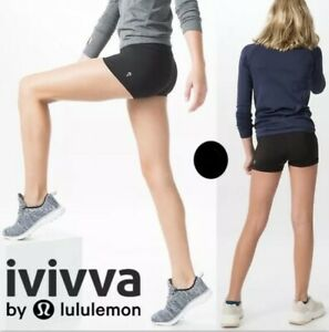 IVIVVA by Lululemon Rhythmic Reversible Girls Shorts Size 12