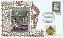 DOMINICA 2012 QUEEN MOTHER 10th ANNIVERSARY OF HER DEATH BENHAM COVER WRAC