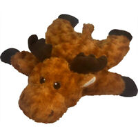 "19"" Petlou Flat Moose Dog Toy"