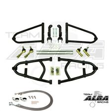 Raptor 700  A Arms +2  Chromoly  Adjustable  Brake Lines Clamps Alba Racing  17