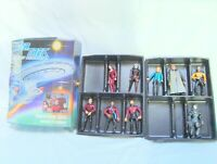 Star Trek the Next Generation Collector's Case Holds 12 Figures (9 enclosed)