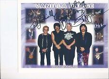 8 1/2 x 11 Glossy Photo Vanilla Fudge Autograph {065}