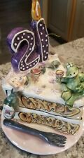 Blue sky clayworks decorative collectibles 21st birthday cake