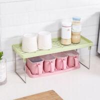 Bathroom Kitchen Standing Rack Countertop Storage Organizer Shelf Holder Rack YO