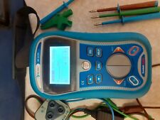Metrel MI3125 Eurotest Combo Multi Function Tester and bag