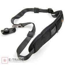 Camera Single Shoulder Black Belt Strap Sling SLR DSLR Cameras Canon Sony Nikon
