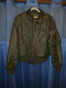 Vintage USAF Flight Jacket Size Lg