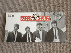 The Beatles Monopoly Game Rare 2008 Collectors Edition