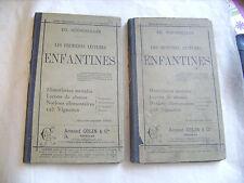 Les premières et seecondes lectures enfantines - Ed. Rocherolles - Colin 1896/97