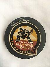 Gordie Howe Signed NHL All Star Game Puck  / Boston 1996