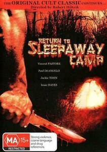 Return To Sleepaway Camp (DVD,2011) Region 4 - NEW+SEALED