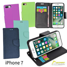 Cross Line Wallet Flip Card Slot Tpu Case Cover For iPhone 7 iPhone7 Plus