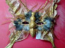 Masker :   VLINDERMASKER / BUTTERFLY MASK / MASQUE DE PAPILLON /     NIEUW