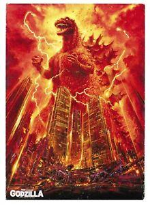 Godzilla Movie Poster Canvas Picture Art Print Premium Quality