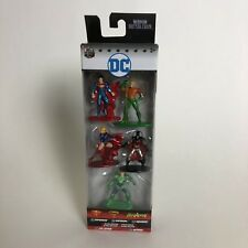 Dc Comics Nano MetalFigs 5-Pack Superman Supergirl Aquaman Lex Luthor Batman