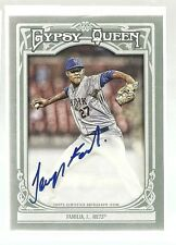 2014 TOPPS GYPSY QUEEN JEURYS FAMILIA AUTO GQA-JF METS