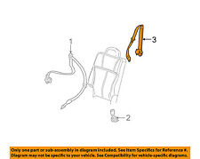 GM OEM Rear Seat Belt-Center Middle 89023867
