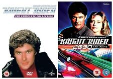 KNIGHT RIDER COMPLETE SEASONS 1-4 + Knight Rider 2000 DVD Collection NEW R2