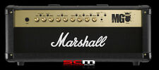 Marshall MG100HFX100W Electric Guitar Amp Head with FX Rare Black/Gold Model NEW