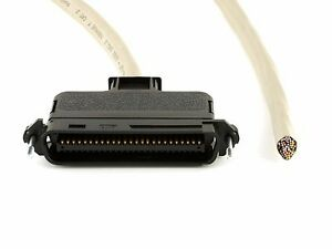 Telco Rj21 Cat3 cat 3 180 degree 25 pair Male to Open end Cable Various Lengths