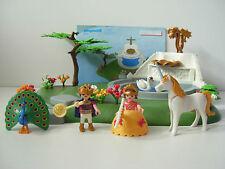 PLAYMOBIL 4137 Pieces from Magic Castle Dream Garden Fountain Princess Unicorn