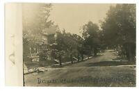 RPPC Street WASHINGTONVILLE PA Montour County Pennsylvania Real Photo Postcard 2