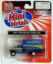 Classic Metal Works #30511 1960 Ford Box Truck, Goodyear Tires HO Scale 1:87