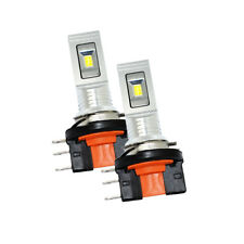H15 60W CSP LED Bulbs For Audi BMW Benz VW Daytime Running Lights Canbus EA2L2