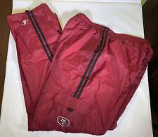Vintage Men's Logo Athletic San Francisco 49ers Convertible Cargo Track Pants XL