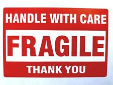25 FRAGILE Handle With Care Stickers 2