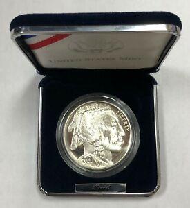 2001 American Buffalo Commemorative Silver Proof Coin with Box