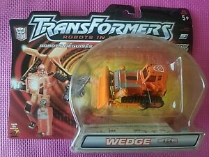 Transformers Robots in Disguise R.I.D. 2001 WEDGE Deluxe 4/4 Ships WORLDWIDE NIB
