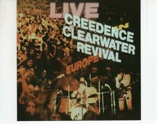 CD	CREEDENCE CLEARWATER REVIVAL	live in europe	1999 EX+ (R2921)