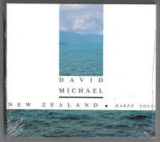 DAVID MICHAEL - NEW ZEALAND (HARPE SOLO) / SPALAX MUSIC 1992 (FRANCE) - NEU, UND