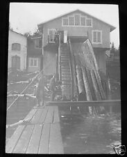 MAGIC LANTERN SLIDE SWEDEN NO.4 SAW MILL KRAMFORS C1910 LOGGING SWEDISH LIFE