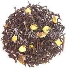 Orange Loose Leaf Flavored Black Tea - 1/4 lb